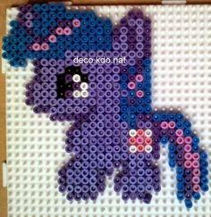 MLP Twilight Sparkle hama perler beads by Deco.Kdo.Nat