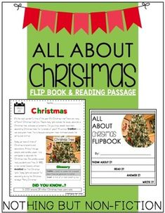 This pack contains a flipbook and reading passage on Christmas (tradition of the Christmas tree)! Enjoy!