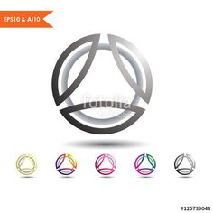 BallArt 3d Sphere _This stunning logo design was created by AMCstudio