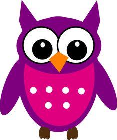 Cute Cartoon Owls | Cute Owl clip art - vector clip art online, royalty free & public ...
