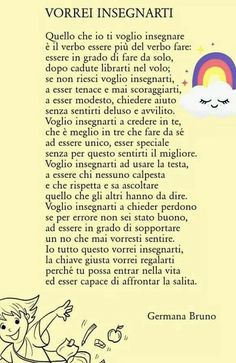 PoesiO b :/ie Renz, Mom Son, Italian Language, Love My Kids, Learning Italian, Magic Words, Kids And Parenting, Life Lessons, Me Quotes