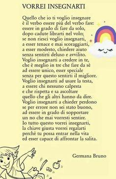 PoesiO b :/ie Renz, Italian Language, Magic Words, Kids And Parenting, Montessori, Life Lessons, Me Quotes, Positivity, Teaching