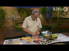 John Dromgoole shows how to save heirloom tomato seeds on Central Texas Gardener.