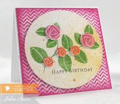 WT439 A Zig Zag Birthday by artystamper - Cards and Paper Crafts at Splitcoaststampers