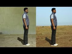 In this Photoshop Tutorial, learn how to change or replace a photos original background with one of your choice!    Photo of man: http://www.sxc.hu/pic/l/a/as/asifthebes/701055_84968438.jpg  Photo of Building: http://www.sxc.hu/pic/l/n/no/nokomai/838508_84675393.jpg