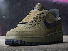 Nike Air Force 1 Low- Dark Loden & Black