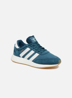 brand new c7690 b09ba Baskets Adidas Originals I-5923 W Bleu vue détail paire