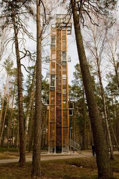 Observation Tower ARHIS Jurmala, Latvia