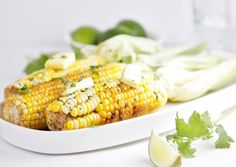Dixie Crystals Recipe: Grilled Corn with Tequila Lime Butter