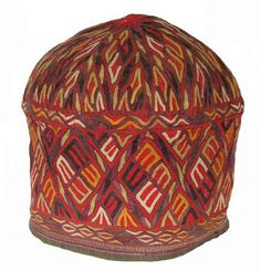 old Turkoman Embroidered Hat.