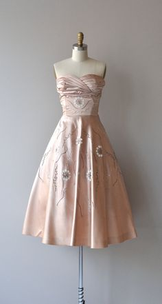 Chimera dress vintage 1950s dress Henry Conder 50s by DearGolden