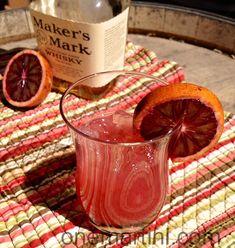 Blood Orange Whiskey Punch