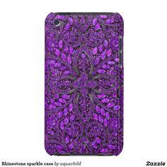 Rhinestone sparkle case