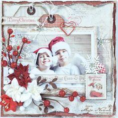 CraftHobby Oliwiaen: Christmas Photoframe. ramka ze zdjęciem
