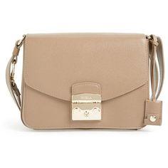 Women's Furla 'Metropolis' Calfskin Leather Shoulder Bag