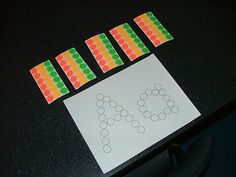 Little Hands, Big Work: letters - stick dot stickers on the letter outlines