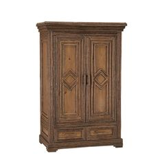 Rustic Armoire by La Lune Collection Furniture, Wardrobe Furniture, Beautiful Furniture, Rustic Cabinets, Rustic Furniture, Living Room Furniture Tables, Rental Furniture, Armoire, Transitional Living Room Furniture
