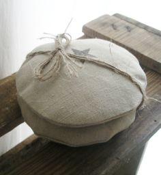 LEINEN Handwärmekissen *STERN* von The White Suite auf DaWanda.com