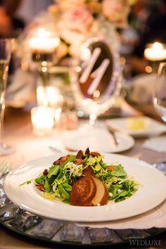 Meals (almost!) too beautiful to eat. | Photography: Ikonica | #fourseasons #Toronto #weddings #fsweddings #bridal #springwedding #spring
