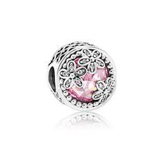 PANDORA | Dazzling Daisy Meadow, Pink & Clear CZ