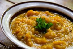 A New Autumn Tradition: Buttercup Squash Soup