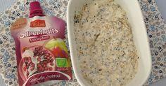 P'tit déjeuner aux flocons d'avoine & graines de chia