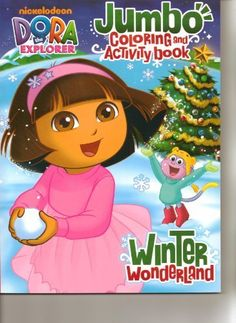 Dora Jumbo Coloring Activity Book Winter Wonderland By Bendon Publishing 400