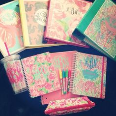 monograms and lilly