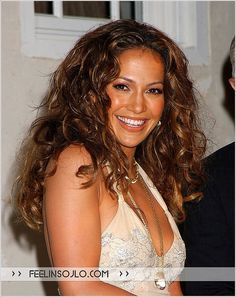 Jennifer Lopez - CURLY HAIR...I LUV IT!!!!