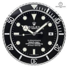 Rolex Wall Clock Daytona Omega Watch Display Large