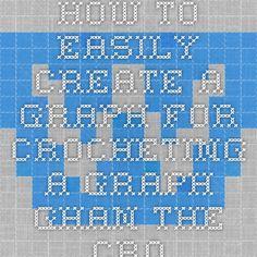 Crochet Graph Maker : ... Easily Create a Graph for Crocheting a Graph-ghan - The Crochet Maiden