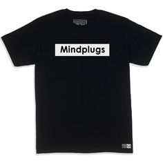 Classic Mind Plugs Black x White Graphic T Shirt | Streetwear