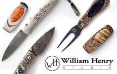William Henry Knives at The Maverick Western Wear