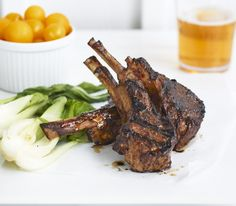 I've always been a little afraid of lamb—which, I'll admit, sounds like one of the strangest phobias ever. But I've seen things. Things no diner should see. Perfectly seared chops that … Sous Vide Lamb Chops, Sous Vide Cooking, Exotic Food, Phobias, Bon Appetit, Mustard, Roast, Dinner Recipes, Good Food