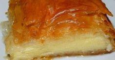 Γαλακτομπούρεκο με απαλή κρέμα