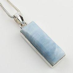 Owyhee Opal Sterling Silver Pendant