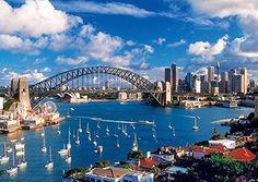 Port Jackson, Sydney 1000 Piece Jigsaw Puzzle