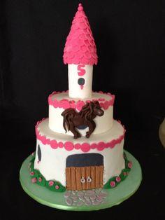 Pony Palace cake. Based on Debbie Brown's design