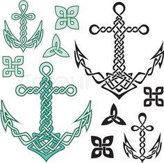 Stock vector of 'Anchor Celtic'