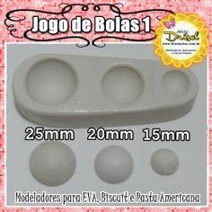 Jogo de Bolas 1 (15mm/20mm/25mm)