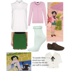 Ami(Sailor Mercury) Sailor Moon episode 8 inspired outfit created by lizzyloveshk19