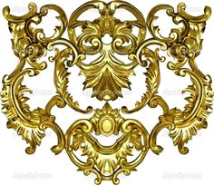 gold ornate banner - Google Search