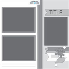 Win a Dot Pen Bundle & Everyday Journal Template: Virtual Crop Challenge Scrapbook Layout Sketches, Scrapbook Templates, Scrapbooking Layouts, Scrapbook Cards, Card Sketches, Digital Scrapbooking, Kiwi Lane Designs, Bridal Shower Scrapbook, Photo Sketch