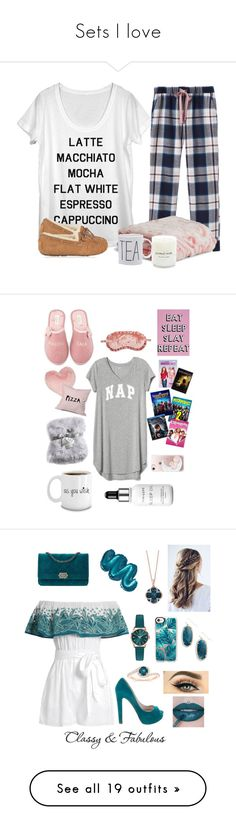 """""""Sets I love"""" by cassieq6929 ❤ liked on Polyvore featuring Joules, UGG, Vera Bradley, Gap, Kate Spade, Nordstrom Rack, DENY Designs, Nicole Miller, Missguided and Chelsea28"""