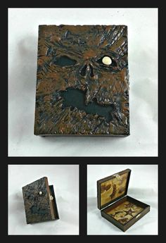 Army of Darkness Necronomicon stash box - Evil Dead - Book of the Dead - pinned by pin4etsy.com