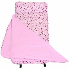 Wildkin Lady Bug Pink Easy-Clean Nap Mat, One Size by Wildkin. $36.76. From the Manufacturer                Features:21 in. W x 45 in. Super-comfy fleece blanket is attached Mat made with water-resistant coated polyester Pillow can be removed for easy washing Rolls up for easy carrying Machine washable; front loader only, gentle cycle, cold water Pattern Description: Simple, sweet, and filled with the curious, casual movements of ladybugs. This pattern catches the ey...