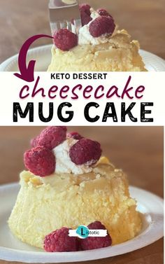 Keto Cheesecake. Get all the textures of a cheesecake you love but without the carbs! Mug cakes are quick and easy to whip up in just a few minutes. The list has 18 of the best keto mug cakes you can cook in the microwave. If you are looking for keto dessert recipes check out this list of keto mug cakes. Dessert Cake Recipes, Sweet Desserts, Snack Recipes, Keto Desserts, Cooking Recipes, Mug Cheesecake, Cheesecake Recipes, Low Carb Smoothies, Smoothie Recipes