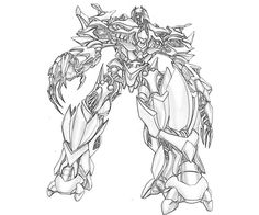1000 Images About Transformers Coloring Pages On