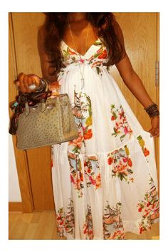 Like the boho dress