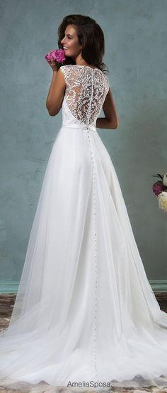 Amelia Sposa 2016 Wedding Dresses – Part 1